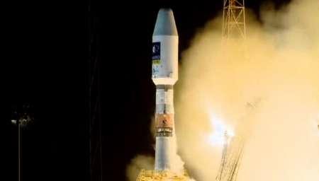 روسیه از گویان ماهواره اسپانپایی پرتاب کرد
