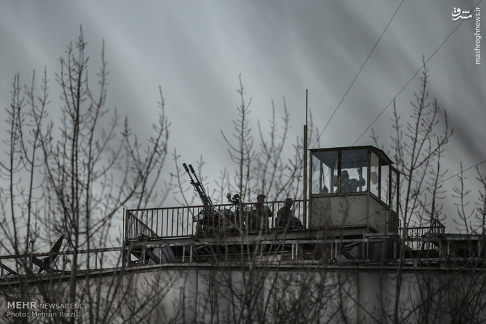 معاون عملیات قرارگاه پدافند هوایی خاتمالانبیا(ص) : پرنده بدون سرنشین دور شد