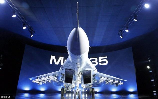 روسیه جنگنده میگ ۳۵ را به خدمت می گیرد