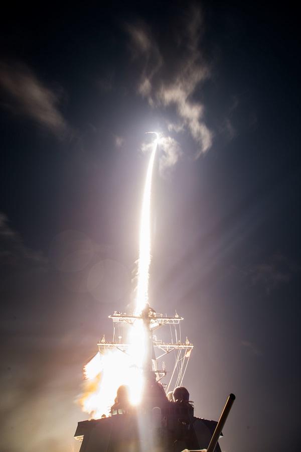 انجام آزمایش موشکی توسط ژاپن و آمریکا+عکس