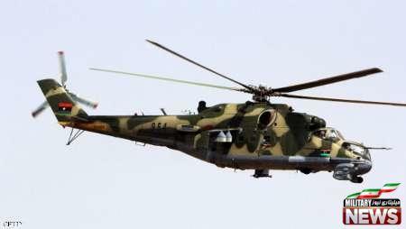 سقوط بالگرد نظامی لیبی و کشته شدن سه سرنشین