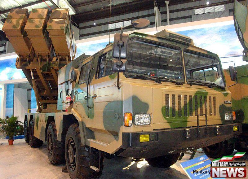 مصر از چین راکت انداز خرید+عکس
