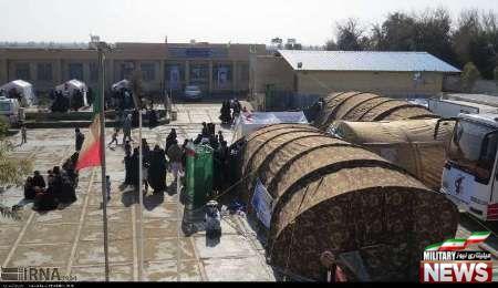 آغاز به کار بیمارستان صحرایی سپاه در راسک