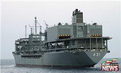 غول ۳۳هزار تُنی ارتش به دریا برگشت+عکس