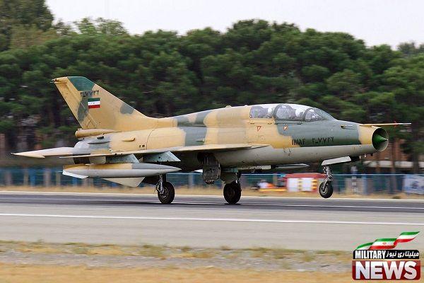 جنگنده های موجود در ایران