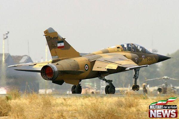 بهترین جنگنده های ایران