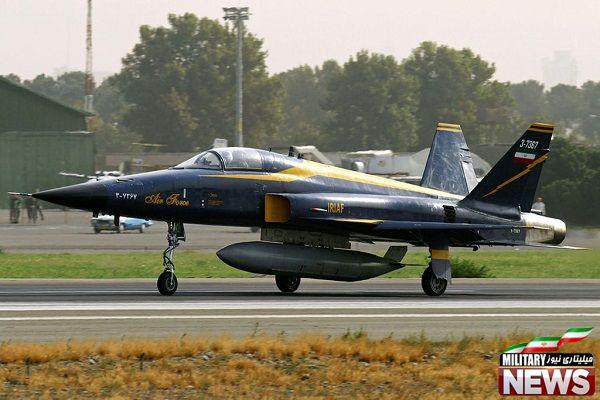 مشخصات کامل جنگنده های موجود در ایران