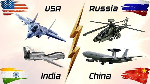 لیست رده بندی قویترین نیروی هوایی جهان در سال ۲۰۱۷