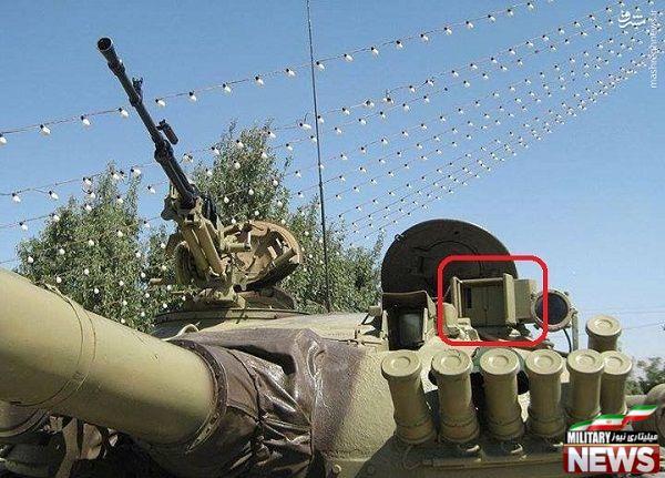 تی 72 ام 1 ایرانی مجهز به سیستم کنترل آتش KAT-72