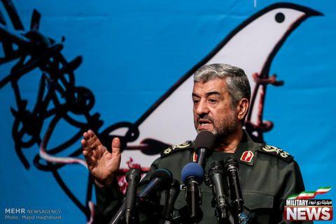 فرمانده سپاه وارد خوزستان شد