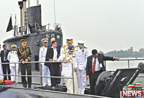آغاز خدمت زیردریایی در بنگلادش