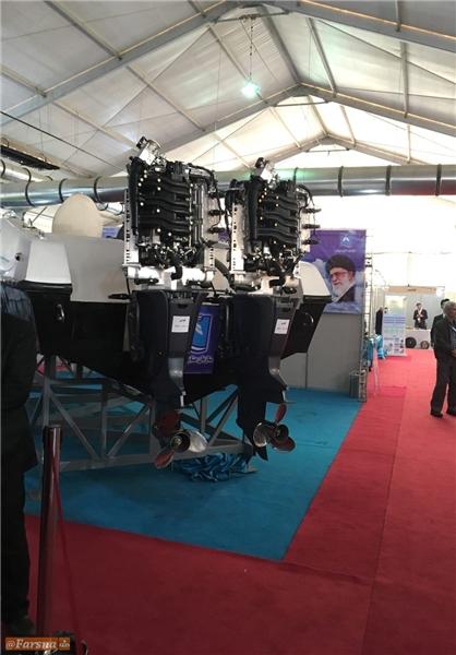 رونمایی از اولین موتور برون نصب دریایی ایران+عکس