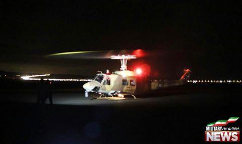 تجهیز بالگردهای هوانیروز به سامانه دید در شب