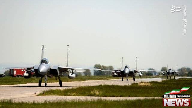 عکس/ حضور جنگنده های آمریکایی در بلغارستان