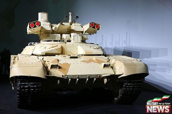 خودروی زرهی BMP-T ملقب به ترمیناتور