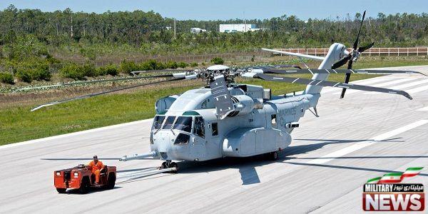 معرفی بالگرد CH-53K ملقب به کینگ استالیون