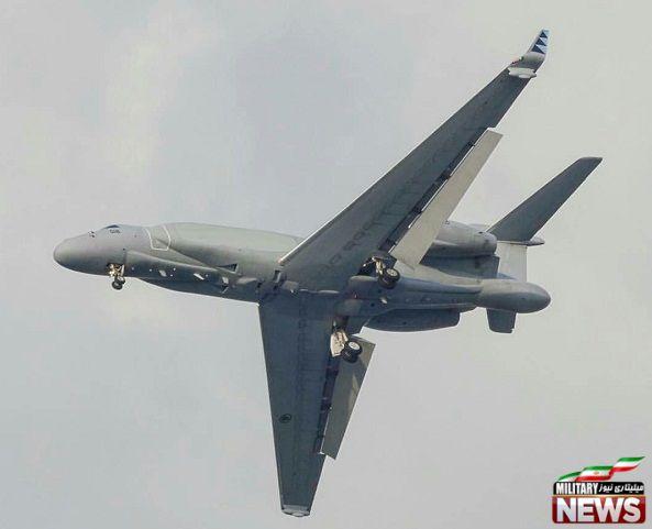 هواپیمای پیش اخطار آواکس ایتام G-550 CAEW ساخت اسراییل