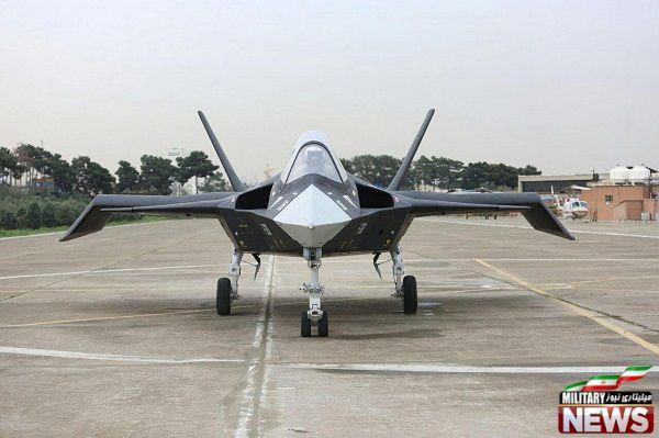 نمونه اصلی جنگنده قاهر ۳۱۳ بالاخره با تغییرات محسوس رونمایی شد
