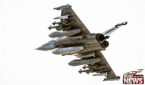 لود سنگین جنگنده رافال