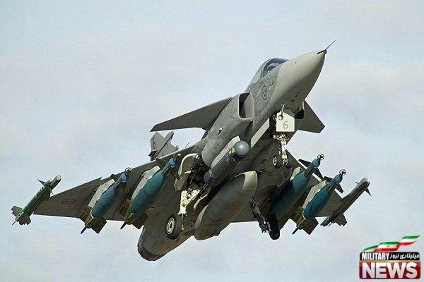 لود سنگین جنگنده گریپن