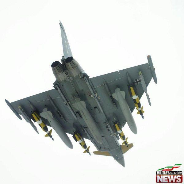 لود سنگین جنگنده تایفون