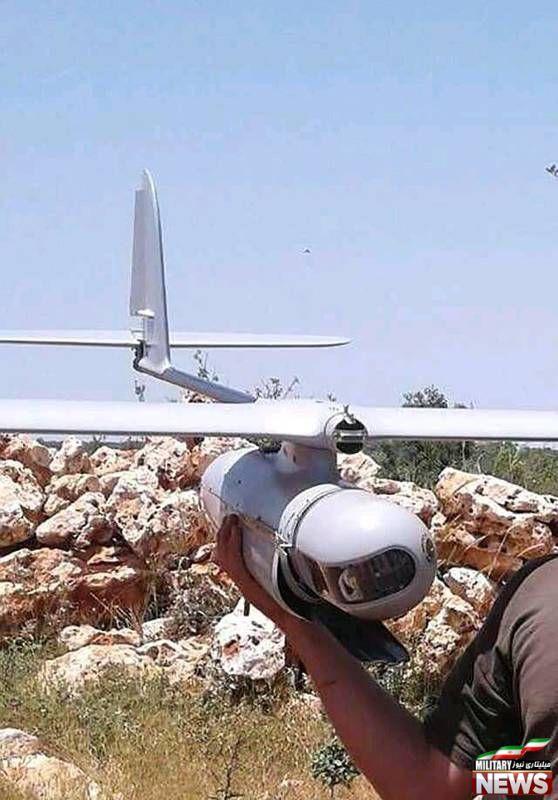 سقوط پهپاد اسراییلی در لبنان +تصاویر