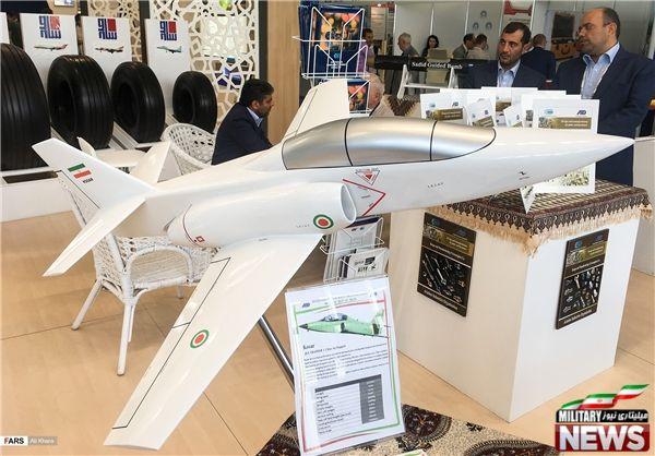 نمایش ماکت جنگنده ایرانی کوثر در ماکس ۲۰۱۷+عکس