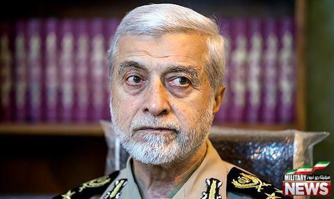 بازدید فرمانده ارتش از مرز ایران و پاکستان