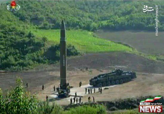 آزمایش موفق موشک قاره پیمای کره شمالی