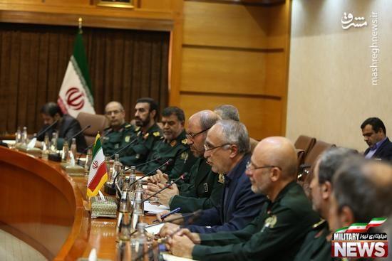 امضاء یادداشت تفاهم دفاعی بین ایران و عراق