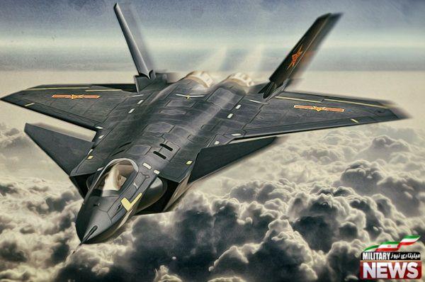 Chengdu-j20 جنگنده چند منظوره و رادارگریز چینی