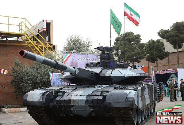 بررسی نوع و تعداد تانک های ایران در ارتش و سپاه