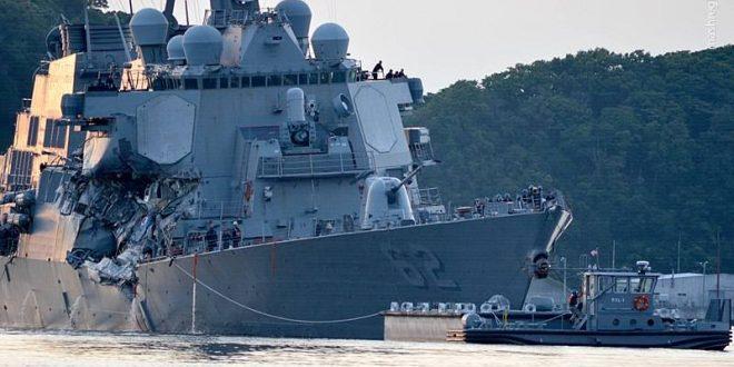 ۱۰ تصادف جالب یگانهای دریایی آمریکا در سالهای اخیر/ از قتل عام ماهیگیران توسط ناو هواپیمابر تا گاف فرماندهان زیردریایی اتمی +عکس