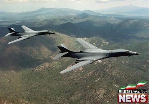 عملیات مشترک بمب افکنهای راهبردی آمریکا با جنگندههای کره جنوبی