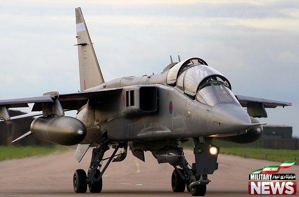 هواپیمای جنگنده پشتیبانی تاکتیکی جگوار ساخت بریتانیا