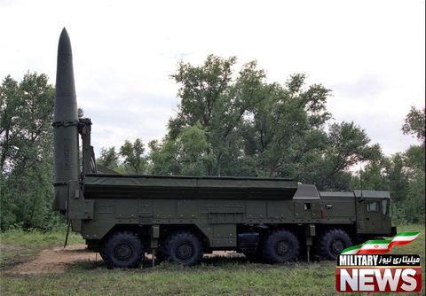 """روسیه سامانه موشکی """"اسکندر-ام"""" را آزمایش کرد"""