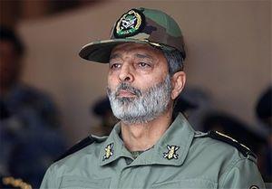فرمانده ارتش: با سپاه تا نابودی اسرائیل دست در دست هم هستیم