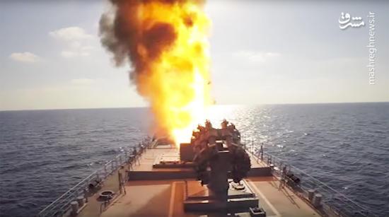 روسیه:از دریای مدیترانه تروریستها را با موشکهای کروز زدیم