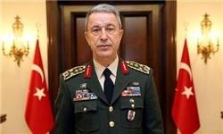 رئیس ستاد ارتش ترکیه وارد تهران شد