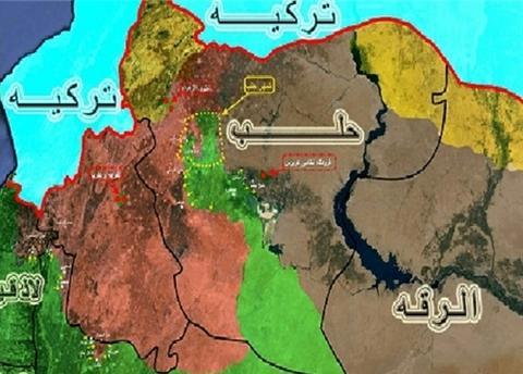 ۴۵ کشته در حملات هوایی ائتلاف آمریکا به منطقه ای در شهر الرقه