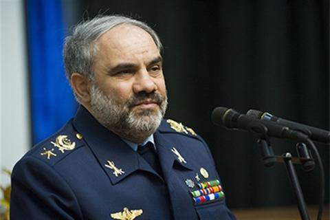 دیدار فرمانده نیروی هوایی عمان با شاهصفی