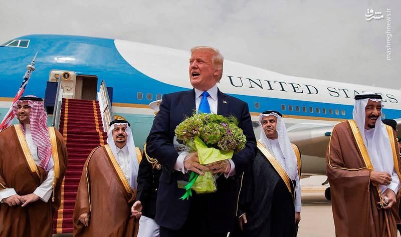 سعودیها بابت سخنان ضد ایرانی ترامپ چقدر پول دادند؟