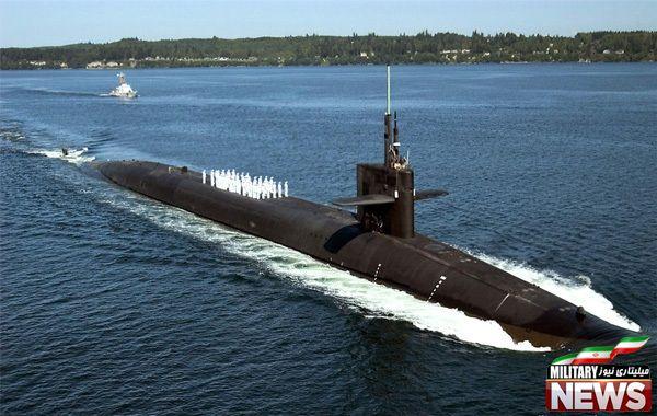 زیردریایی های کلاس Ohio متعلق به ایالات متحده امریکا