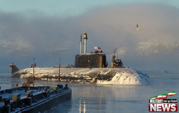 زیردریایی های کلاس Oscar II متعلق به روسیه