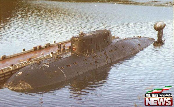 زیردریایی های کلاس SIERRA II متعلق به روسیه