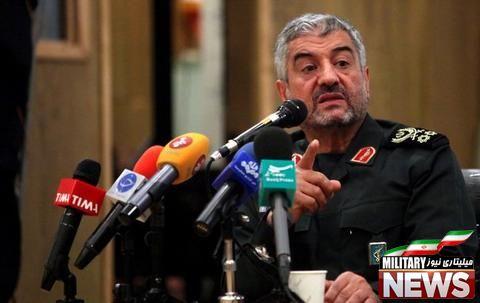 سرلشکر جعفری:توان افزایش برد موشکهای ایران وجود دارد