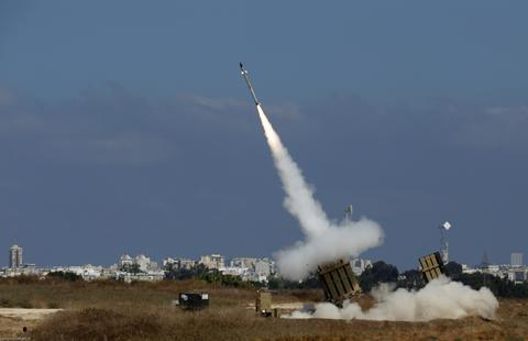 انگلیس از اسرائیل سامانه «گنبد آهنین» خرید