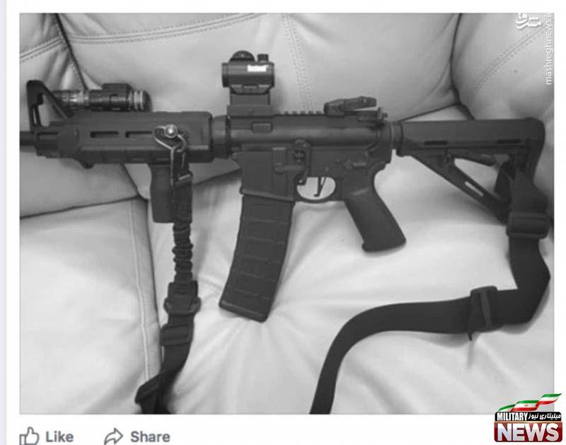 تیرانداز تگزاس از چه سلاحی استفاده کرد؟+عکس