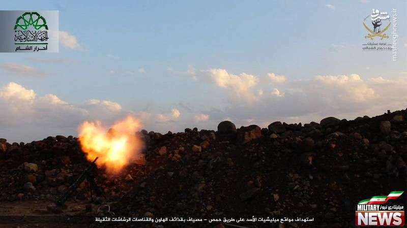 عکس/ نقض آتشبس در «حمص» توسط احرار الشام