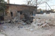 عکس/حمله موشکی تروریستها به نبل و الزهراء